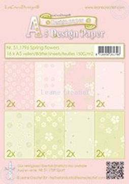 Bild von Design paper Spring flowers