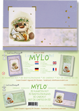 Picture of Mylo & Friends® communion 3D card kit
