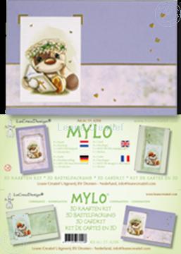 Afbeeldingen van Mylo & Friends® communie 3D kaarten pakket