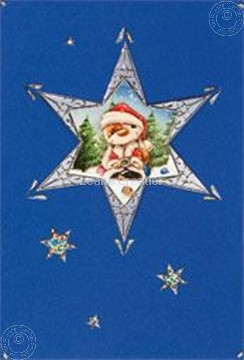 Afbeeldingen van Mylo & Friends® sticker kerst kaarten kit ster #3