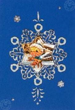 Afbeeldingen van Mylo & Friends® sticker kerst kaarten kit sneeuwvlok #5