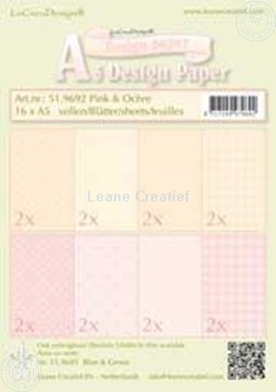 Picture of Design sheets Pink & Ochre A5