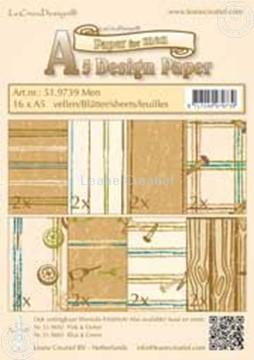 Bild von Design Bogen Men A5