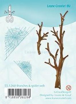Afbeeldingen van Branches & spider web