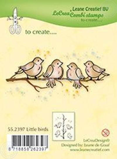 Afbeelding van Combistamp Little birds