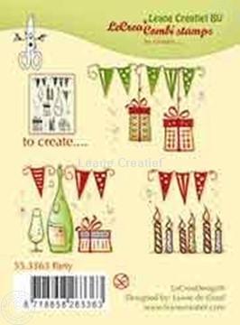 Afbeeldingen van Combi stamp Party