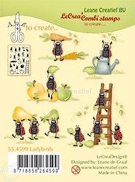 Image de Clear stamp Ladybugs