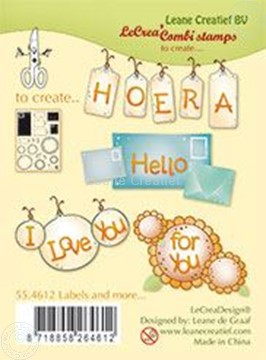 Image de Clear stamp Labels and more