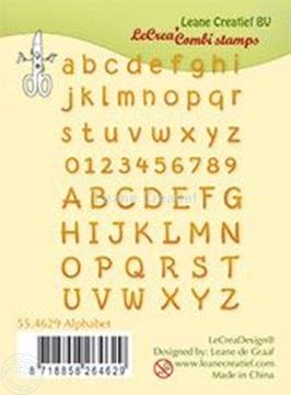 Picture of Clear stamp Alphabet