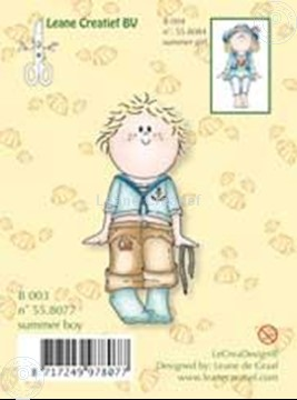 Picture of Clearstamp Bambinie´s B003 Summer boy