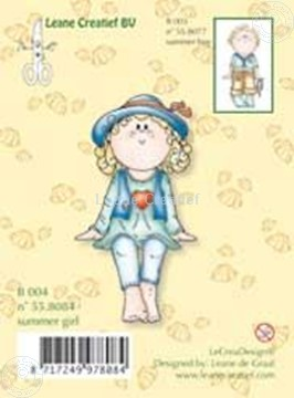 Picture of Clearstamp Bambinie´s B004 Summer girl