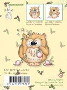 Picture of Clearstamp Owlie´s Owl009 Twitke at Christmas