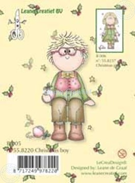 Bild von Clearstamp Bambinie´s B005 Christmas boy
