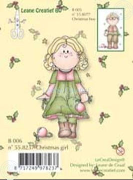 Bild von Clearstamp Bambinie´s B006 Christmas girl