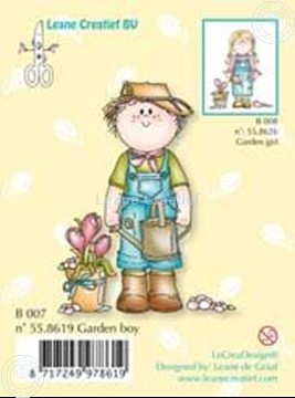 Picture of Clearstamp Bambinie´s B007 garden boy