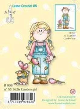 Picture of Clearstamp Bambinie´s B008 garden girl
