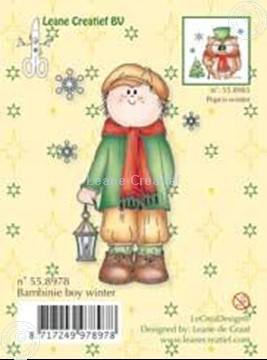 Bild von Clearstamp Bambinie's boy winter