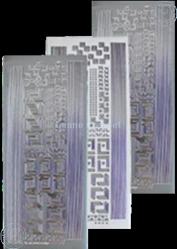 Picture of LeCreaDesign® Corner&lines sticker silver