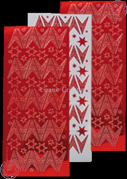 Image de Sticker de Noël mirror étoile rouge