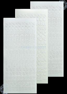 Picture of LeCreaDesign® lace ornament sticker white