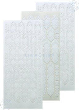 Picture of LeCreaDesign® lace sticker white