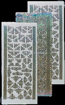 Bild von Sticker diamond silber