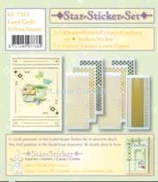 Picture of Star-Sticker set gold