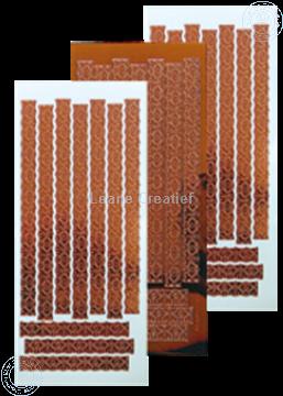 Picture of LeCreaDesign® Lace sticker mirror copper