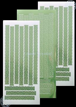 Picture of LeCreaDesign® Lace sticker mirror apple