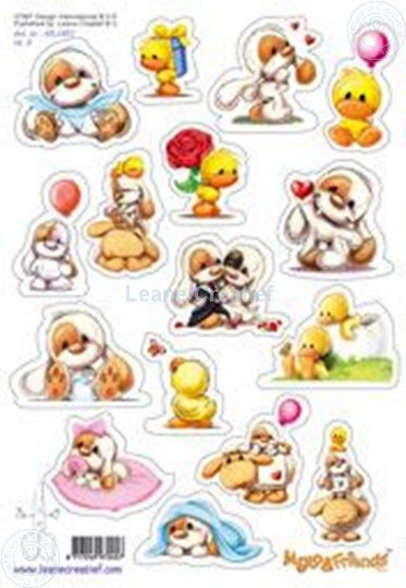 Afbeelding van LeCreaDesign® Mylo & Friends® Stickers A5 #3