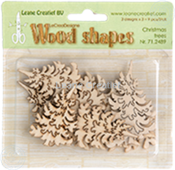 Picture of Woodshapes Christmas trees