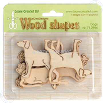 Image de Woodshapes Dogs