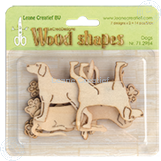 Picture of Woodshapes Dogs