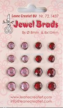 Picture of Jewel brads bordeaux / light pink