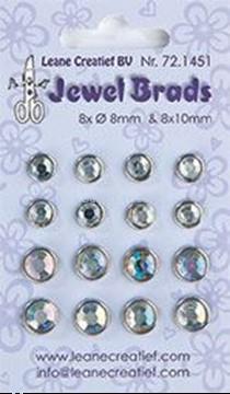 Afbeeldingen van Jewel brads crystal