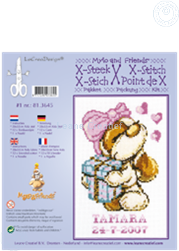 Picture of Mylo & Friends® cross stitch kit #1