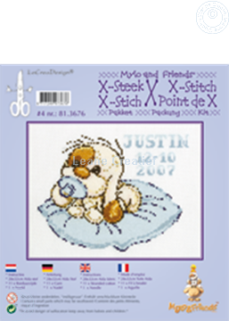 Picture of Mylo & Friends® cross stitch kit #4