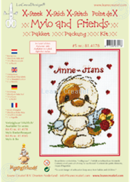 Picture of Mylo & Friends® cross stitch kit #5