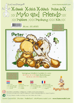 Picture of Mylo & Friends® cross stitch kit #6
