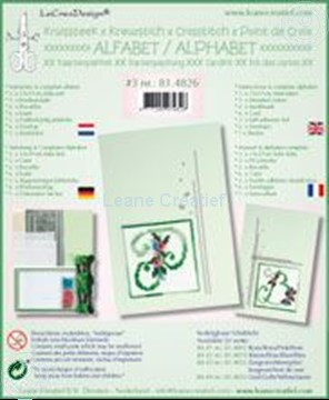 Picture of Alphabet cross stitch cards kit #3