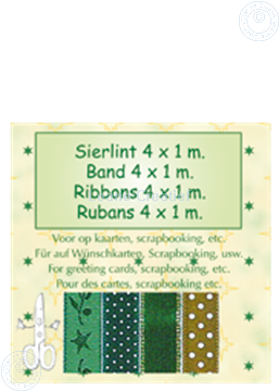 Picture of Ribbon 4x1 m green