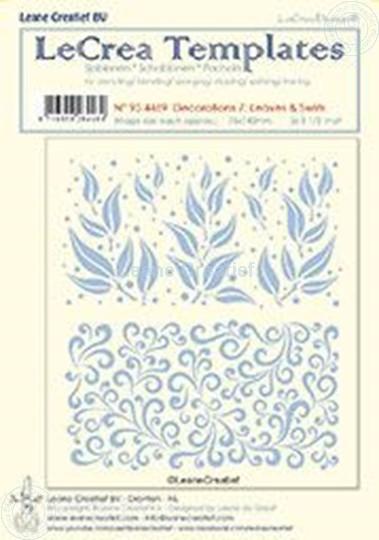 Afbeelding van Decorations 7: Leaves & Swirls