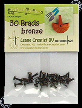 Afbeeldingen van 30 Brads bronze 5mm