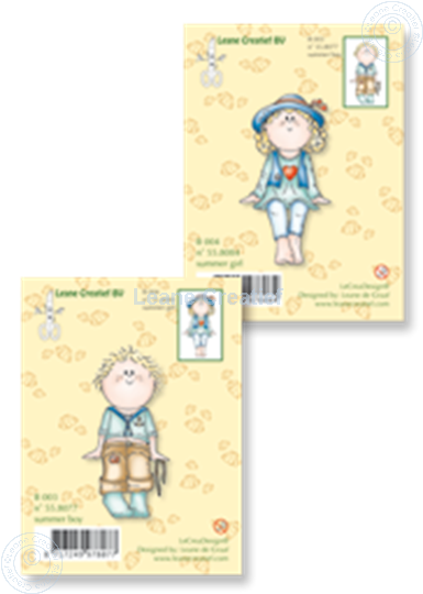 Picture of Clearstamp Set Bambinie´s B003+B004