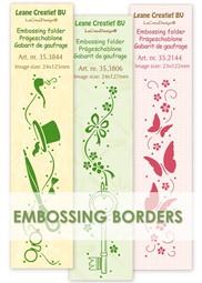 Afbeelding voor categorie Embossing folder borders