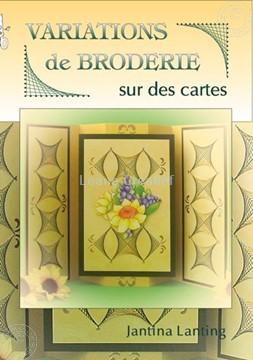 Bild von Embroidery variations on Cards (Englisch/Französisch)