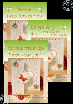 Bild von Borduurcreaties met kraaltjes (Hollandisch/Englisch)