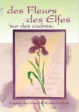 Bild von Elfen & Blumen auf Keilrahmen ( Französisch )