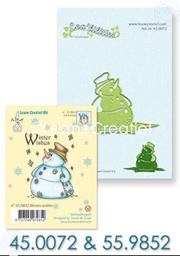 Picture of Set Lea'bilitie & Clearstamp Snowman