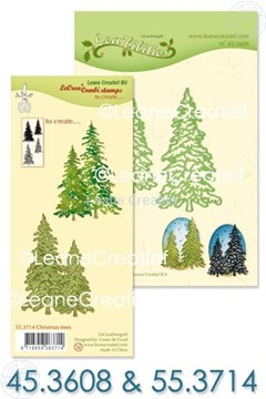 Image de Set Lea'bilitie & Clearstamp Christmas trees